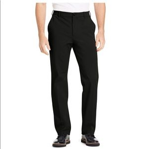NWT Izod Men's Four Way Flex Black Pants